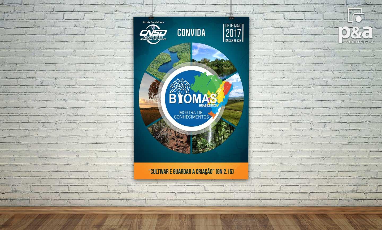 Banner Biomas Brasileiros CNSD