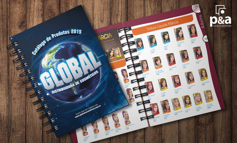 Catálogo de Produtos Global