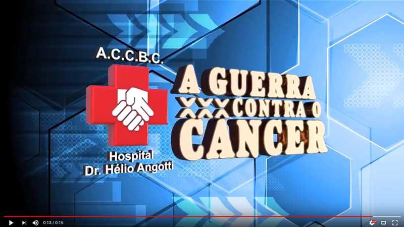 A guerra contra o cancer Hospital Dr. Hélio Angotti